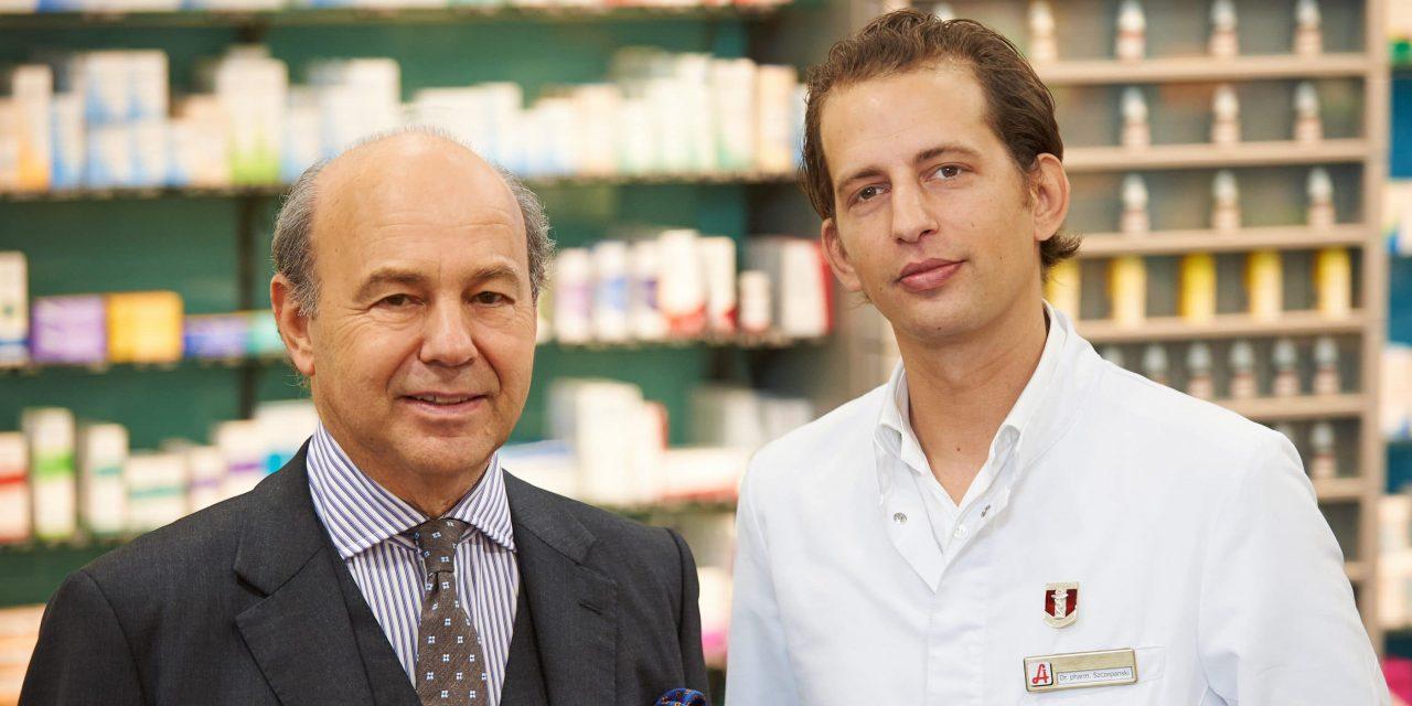 Junger Pharmazeut steigt in Betrieb ein