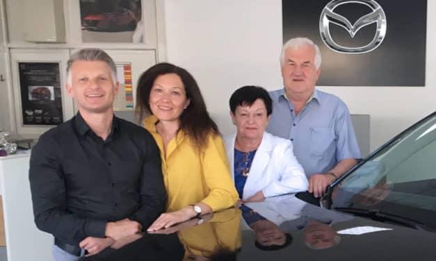 Mazda Kleinrath feiert 20 Jahre