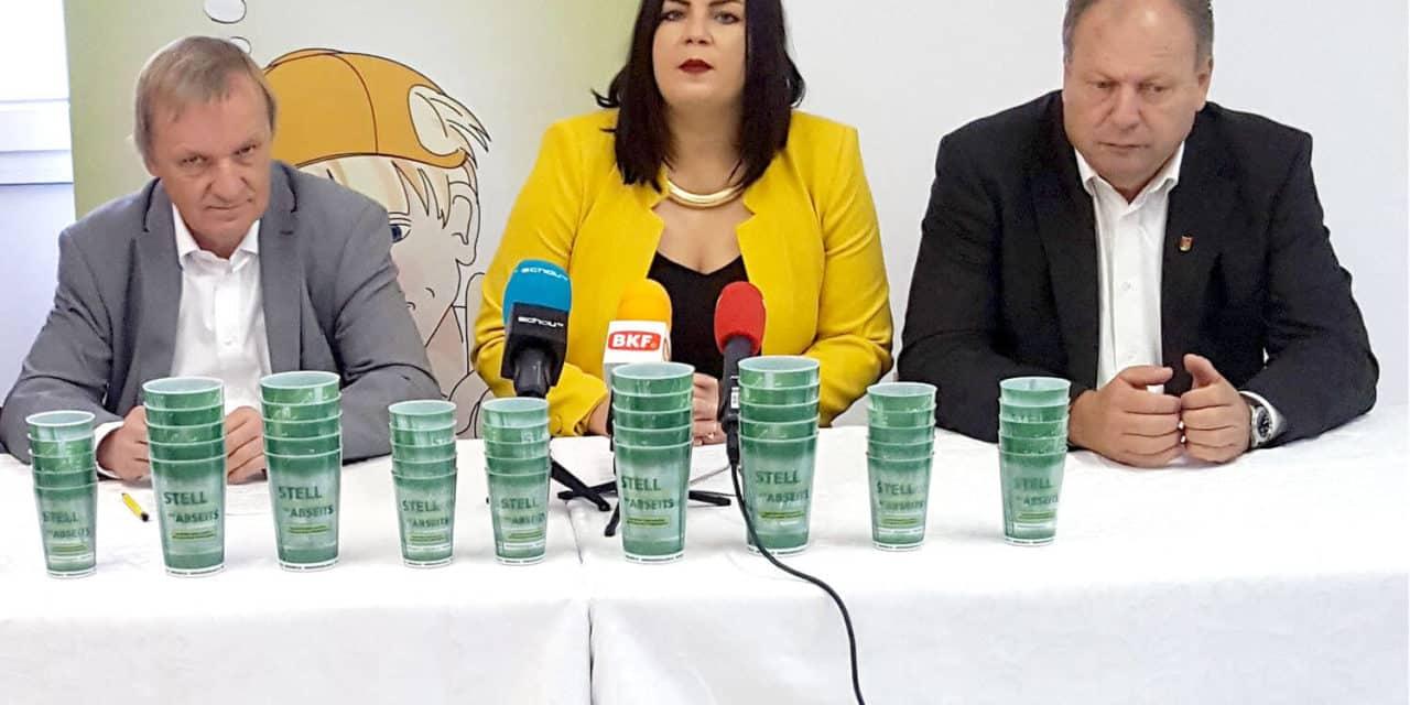 """""""Bessere Mülltrennung nötig!"""""""