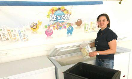Börsen-Spezialistin wird Eis-Verkäuferin